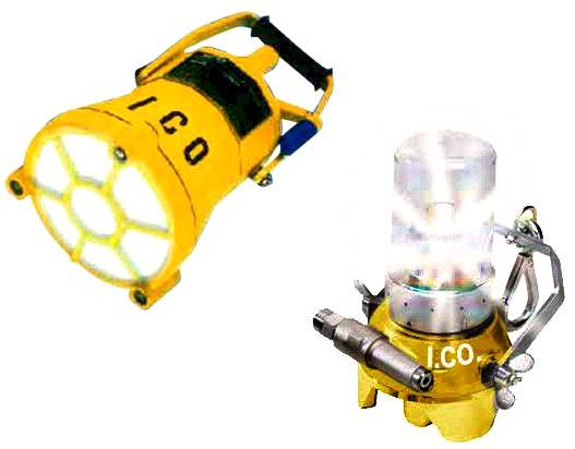 Lampade pneumatiche di sicurezza